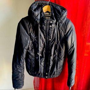 LORNA JANE (XS) winter puffer jacket wooly lining